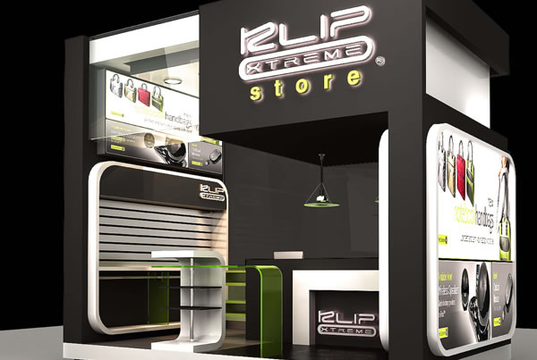 KlipXtreme<br>Retail Store &#038; Event Booth