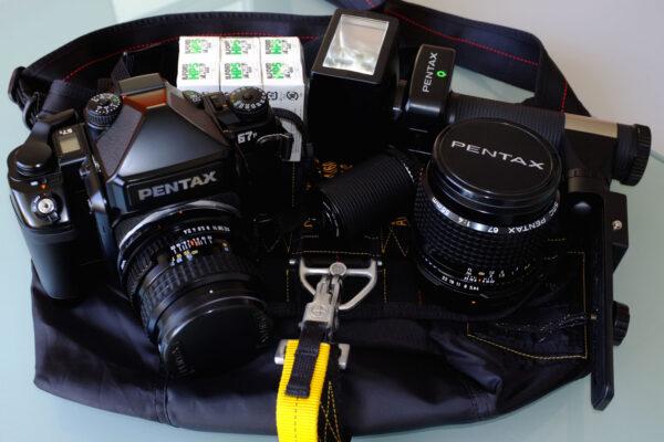 Pentax 67II Ready to go set