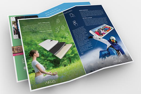 AKUA Mobile<br>MK5/EK4 Tri-fold Leaflets
