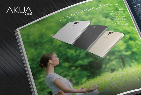 AKUA Mobile<br>Bifold Brochure
