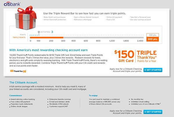 Citibank<br>Eblast & Loan Widgets