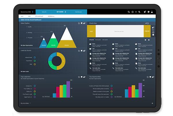Microsoft Dynamics 365<br>UI Design Exploratory